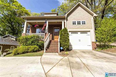 Homewood AL Single Family Home For Sale: $369,900