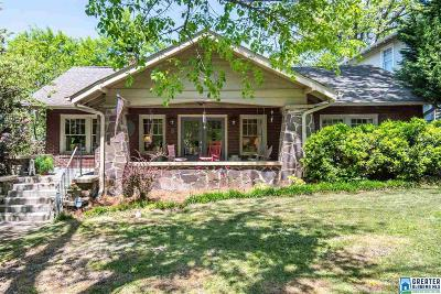 Birmingham Single Family Home For Sale: 4320 Cliff Rd