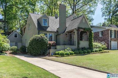 Mountain Brook Single Family Home For Sale: 48 Norman Dr