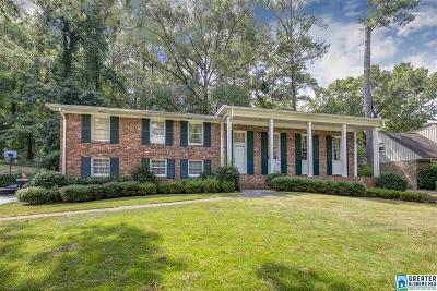 Vestavia Hills Single Family Home For Sale: 1443 Badham Dr