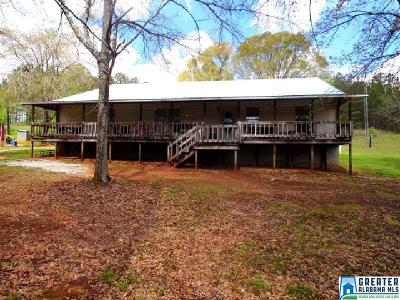 Clay County Manufactured Home For Sale: 533 Fosters Bridge Rd