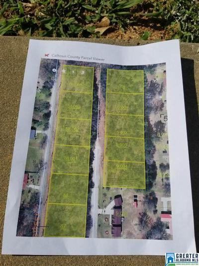 Anniston Residential Lots & Land For Sale: Patterson Ave