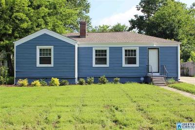 Homewood AL Single Family Home For Sale: $334,900