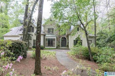 Mountain Brook Single Family Home For Sale: 2109 Caldwell Mill Trc