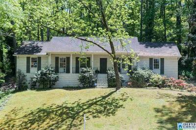Mountain Brook AL Single Family Home For Sale: $459,900