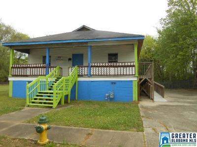 Birmingham AL Single Family Home For Sale: $85,900