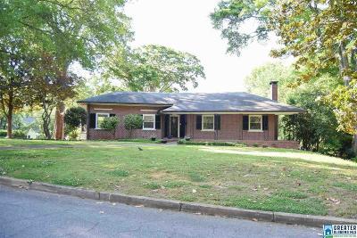 Anniston Single Family Home For Sale: 930 Glenwood Terr