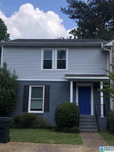 Vestavia Hills Condo/Townhouse For Sale: 3022 Asbury Park Pl