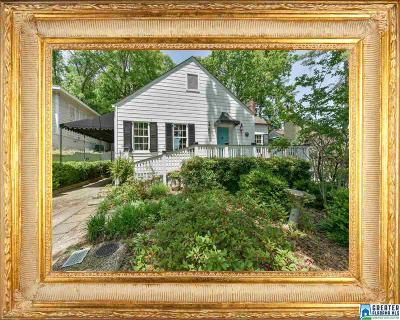 Homewood AL Single Family Home For Sale: $529,900