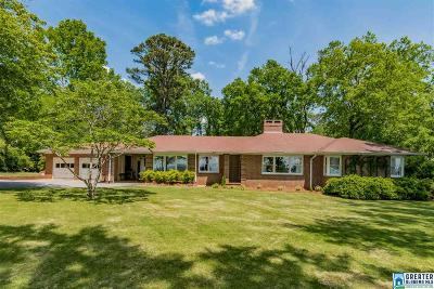 Hoover Single Family Home For Sale: 345 Shades Crest Rd