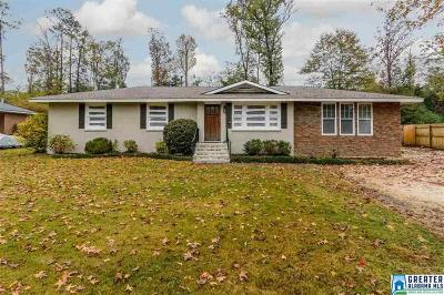 Vestavia Hills AL Single Family Home For Sale: $265,000