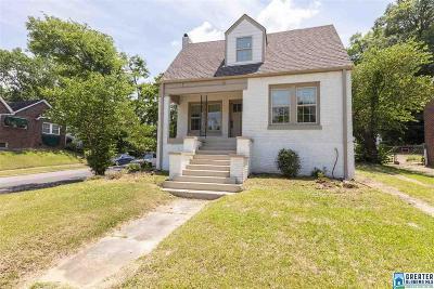 Birmingham Single Family Home For Sale: 1439 43rd St