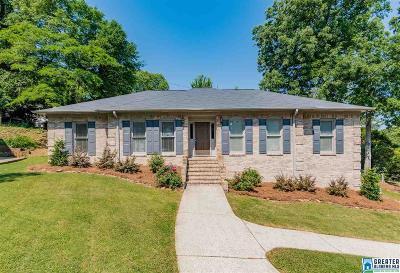 Homewood AL Single Family Home For Sale: $349,900