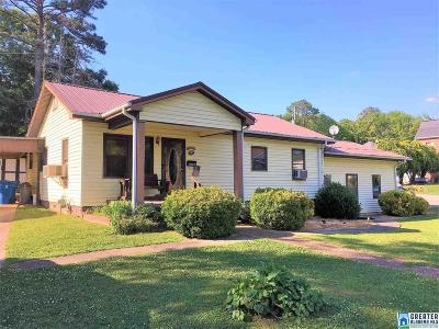 Clay County, Cleburne County, Randolph County Single Family Home For Sale: 603 Oxford St