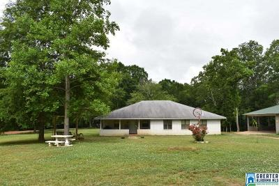 Woodland AL Single Family Home For Sale: $179,000