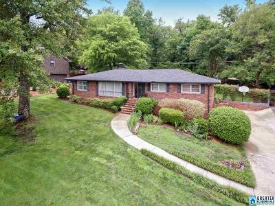 Vestavia Hills Single Family Home For Sale: 1332 Round Hill Rd
