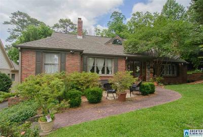 Homewood Single Family Home For Sale: 509 Norfolk Ln