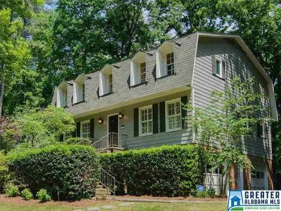 Birmingham AL Single Family Home For Sale: $424,000