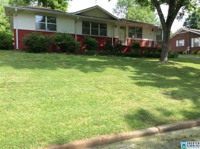 Birmingham AL Single Family Home For Sale: $129,900
