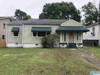 Birmingham AL Single Family Home For Sale: $45,000