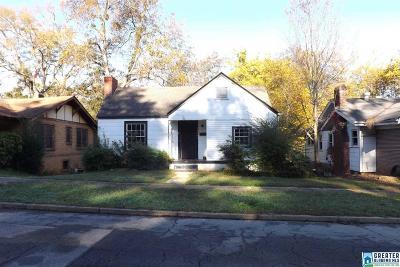 Birmingham AL Single Family Home For Sale: $39,900