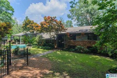 Vestavia Hills Single Family Home For Sale: 2709 Woodlane Cir