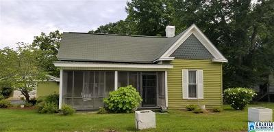Roanoke AL Single Family Home For Sale: $69,900