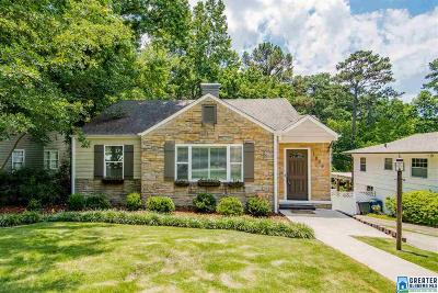 Homewood AL Single Family Home For Sale: $299,900