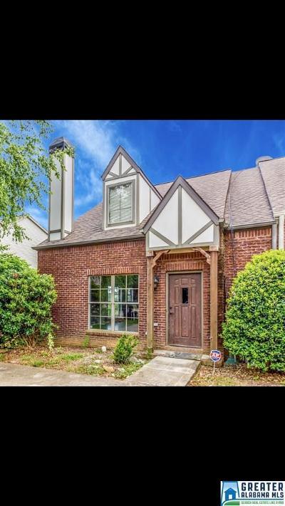 Birmingham AL Condo/Townhouse For Sale: $189,900
