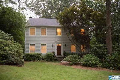 Vestavia Hills Single Family Home For Sale: 3406 Moss Brook Ln