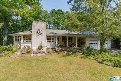 Homewood Single Family Home For Sale: 1524 Berry Rd