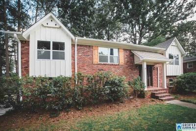 Hoover Single Family Home For Sale: 3442 Flintshire Dr