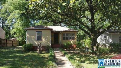 Birmingham AL Single Family Home For Sale: $30,000