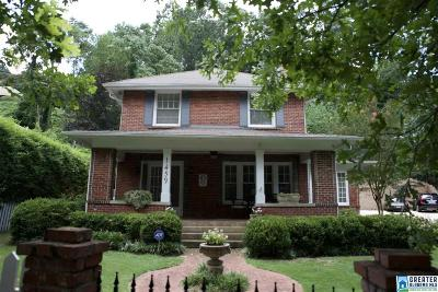 Birmingham Single Family Home For Sale: 1459 Milner Crescent