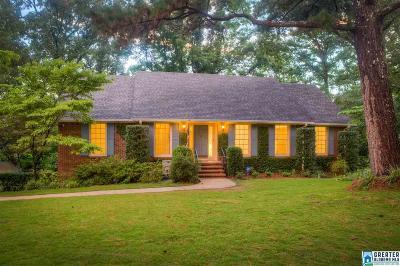Vestavia Hills Single Family Home For Sale: 1418 Branchwater Cir