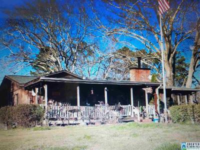 Calhoun County, Chambers County, Clay County, Cleburne County, Coosa County, Randolph County, Talladega County, Tallapoosa County Farm For Sale: 653 Sunny Side Cir