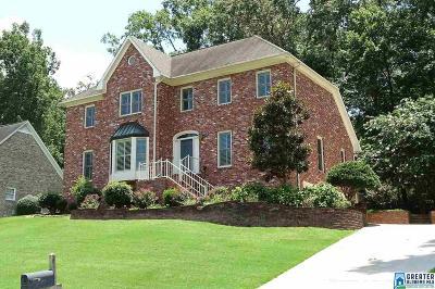 Vestavia Hills Single Family Home For Sale: 3412 Danner Cir