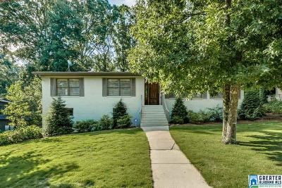Mountain Brook AL Single Family Home For Sale: $449,000
