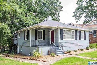 Birmingham Single Family Home For Sale: 1000 Green Springs Ave