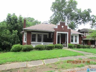 Birmingham Single Family Home For Sale: 3428 15th Ave N