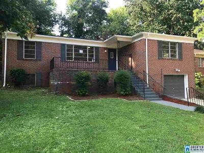 Birmingham Single Family Home For Sale: 848 86th St S