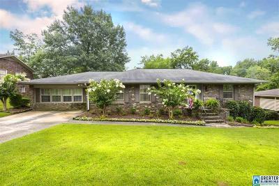Vestavia Hills Single Family Home For Sale: 212 Erwin Cir