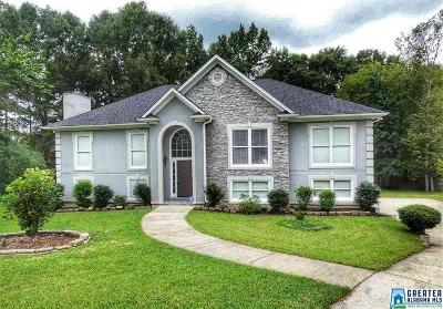 Alabaster Single Family Home Contingent: 128 Tintern Abbey