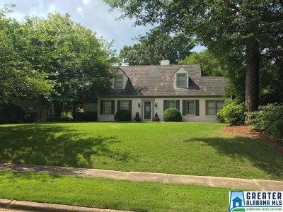 Homewood AL Single Family Home For Sale: $599,900