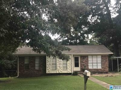 Adamsville Single Family Home For Sale: 2920 Valleyview Cir