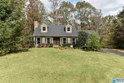 Alabaster Single Family Home For Sale: 660 Deer Run Rd