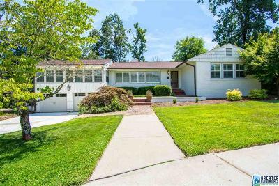 Vestavia Hills Single Family Home For Sale: 2449 Shades Crest Rd