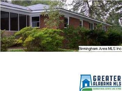 Gardendale Single Family Home For Sale: 1560 Pesnell Dr