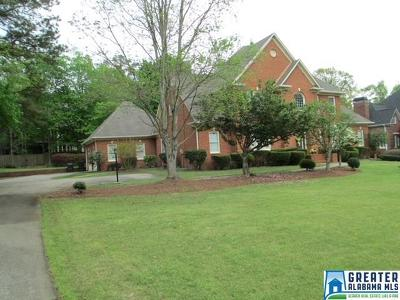 Hoover Single Family Home For Sale: 3640 Shandwick Pl