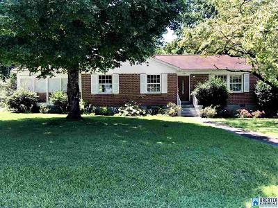 Anniston Single Family Home For Sale: 1808 Lynn Rd